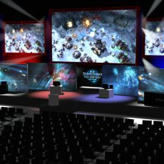 WCS Toronto StarCraft 2 Main Stage Design & Renderings