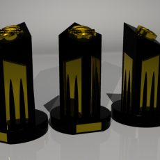 ESL Trophy Design Renders