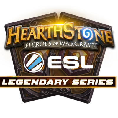 Hearthstone Legendary Series Logo Development (Final)