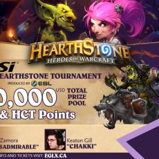 Hearthstone EGLX Twitter Announcement Graphic