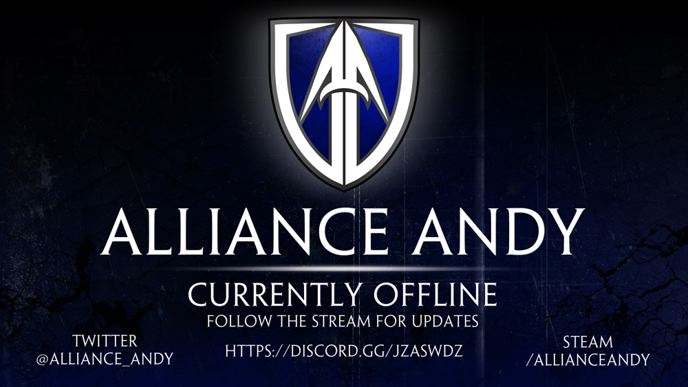 Twitch Broadcast Assets Package – AllianceAndy – Inner Fringe Graphics